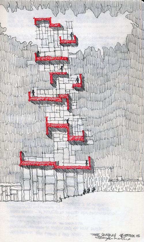 <em>Verticale moderato</em>, 2005